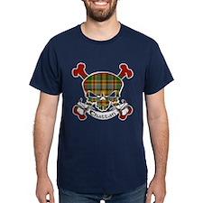 Chattan Tartan Skull T-Shirt