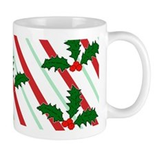 Festive Holiday Holly Mug Mug