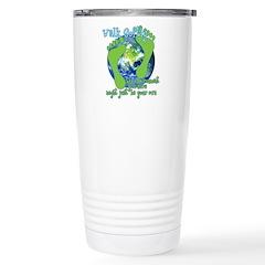 Walk Softly Travel Mug