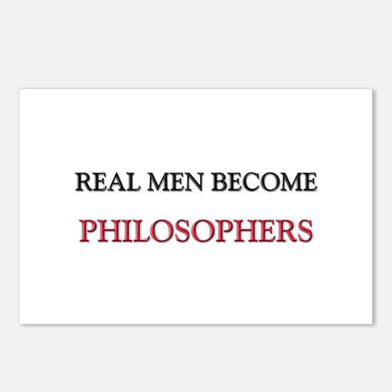 Real Men Become Philosophers Postcards (Package of