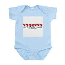 WALK IN LOVE Infant Creeper