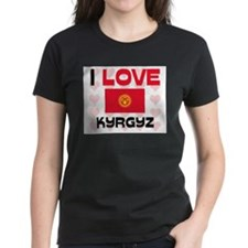 I Love Kyrgyz Tee