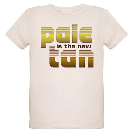 Pale is the New Tan Organic Kids T-Shirt