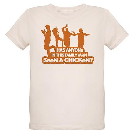Chicken Dance Organic Kids T-Shirt