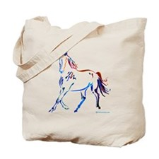 Horse of Many Colors Tote Bag