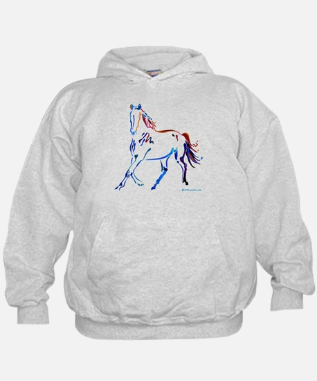 Horse of Many Colors Hoodie
