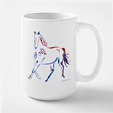 Horse of Many Colors Large Mug