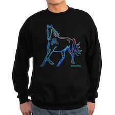 Horse of Many Colors Sweatshirt