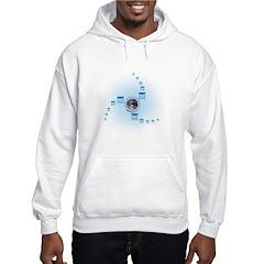 Spiral World Hooded Sweatshirt