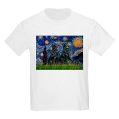 Starry / Two Flat Coated Ret T-Shirt
