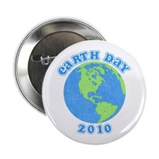 """Earth Day 2010 2.25"""" Button"""