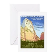 Zion National Park Greeting Cards (Pk of 10)