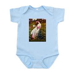 Windflowers / Flat Coated Ret Infant Bodysuit