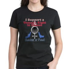 Woman's Choice pro-gun Tee