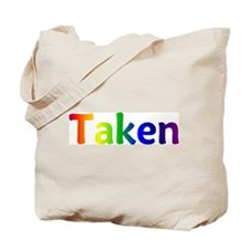 """Taken"" Tote Bag"
