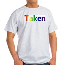 """Taken"" Ash Grey T-Shirt"