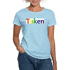 """""""Taken"""" Women's Pink T-Shirt"""