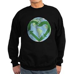 Recycle Earth Sweatshirt (dark)