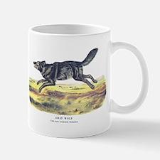 Audubon Gray Wolf Animal Mug