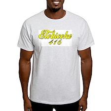 Etobicoke Ontario 416 area code Ash Grey T-Shirt
