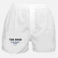 THE HOOD - STUYVESANT TOWN - NEW YORK Boxer Shorts