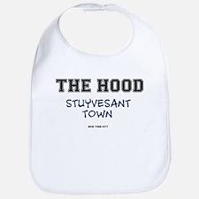 THE HOOD - STUYVESANT TOWN - NEW YORK CIT Baby Bib