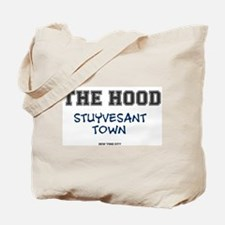 THE HOOD - STUYVESANT TOWN - NEW YORK CIT Tote Bag