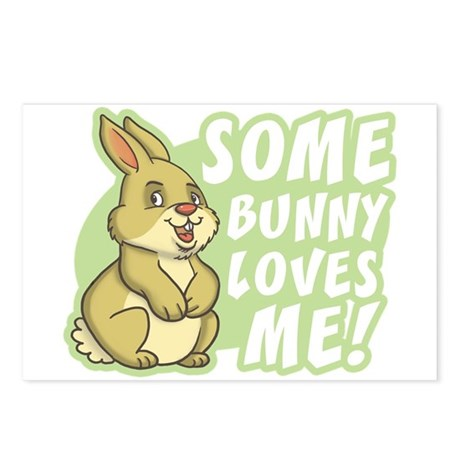 Some Bunny Loves Me Postcards (Package of 8)