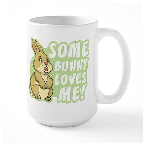Some Bunny Loves Me Large Mug