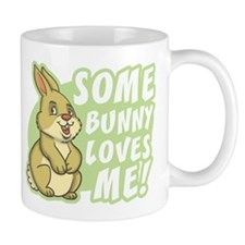 Some Bunny Loves Me Small Mugs