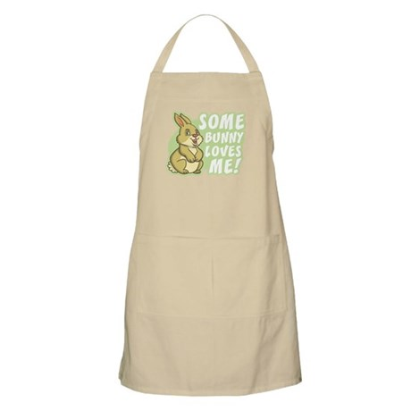 Some Bunny Loves Me BBQ Apron