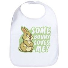 Some Bunny Loves Me Bib
