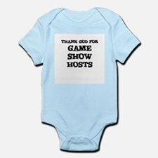 THANK GOD FOR GAME SHOW HOSTS Infant Creeper