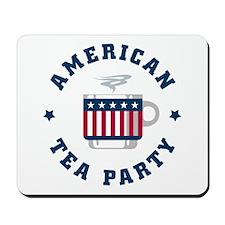 American Tea Party Mousepad