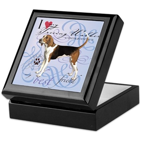 Treeing Walker Keepsake Box