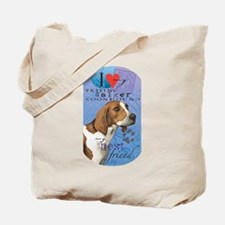 Treeing Walker Tote Bag