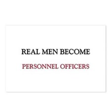Real Men Become Personnel Officers Postcards (Pack