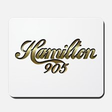 Hamilton, Ontario, Canada 905 area code  Mousepad