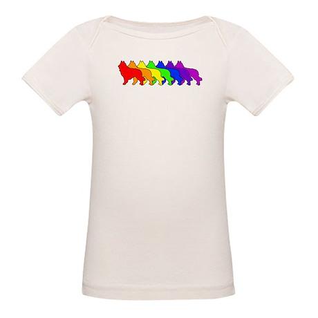 Rainbow Tervuren Organic Baby T-Shirt