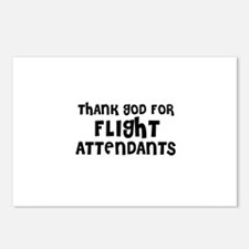 THANK GOD FOR FLIGHT ATTENDAN Postcards (Package o