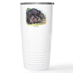 Audubon Grizzly Bear Animal Travel Mug
