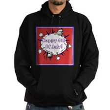 Happy 4th Rocket Blast Hoodie