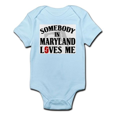 Somebody In Maryland Infant Creeper