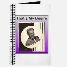 """That's My Desire"" Journal"