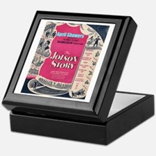 """The Jolson Story"" Keepsake Box"