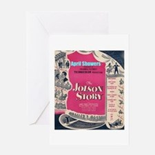"""The Jolson Story"" Greeting Card"