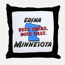 edina minnesota - been there, done that Throw Pill