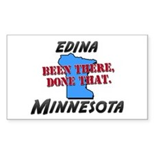 edina minnesota - been there, done that Decal