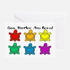 Sea Turtles are Love Greeting Cards (Pk of 10)