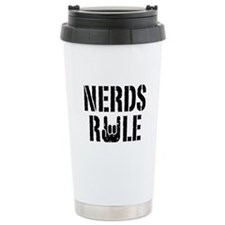 Nerds Rule Travel Mug